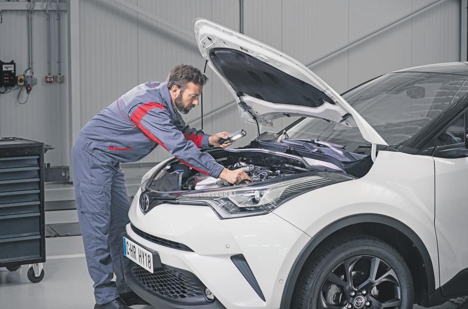 Mechaniker Toyota